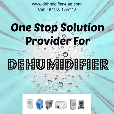 Industrial dehumidifier supplier in UAE.