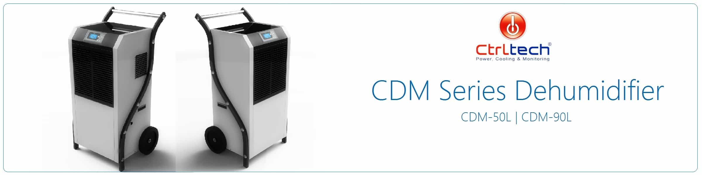 CDM series Industrial dehumidifier.