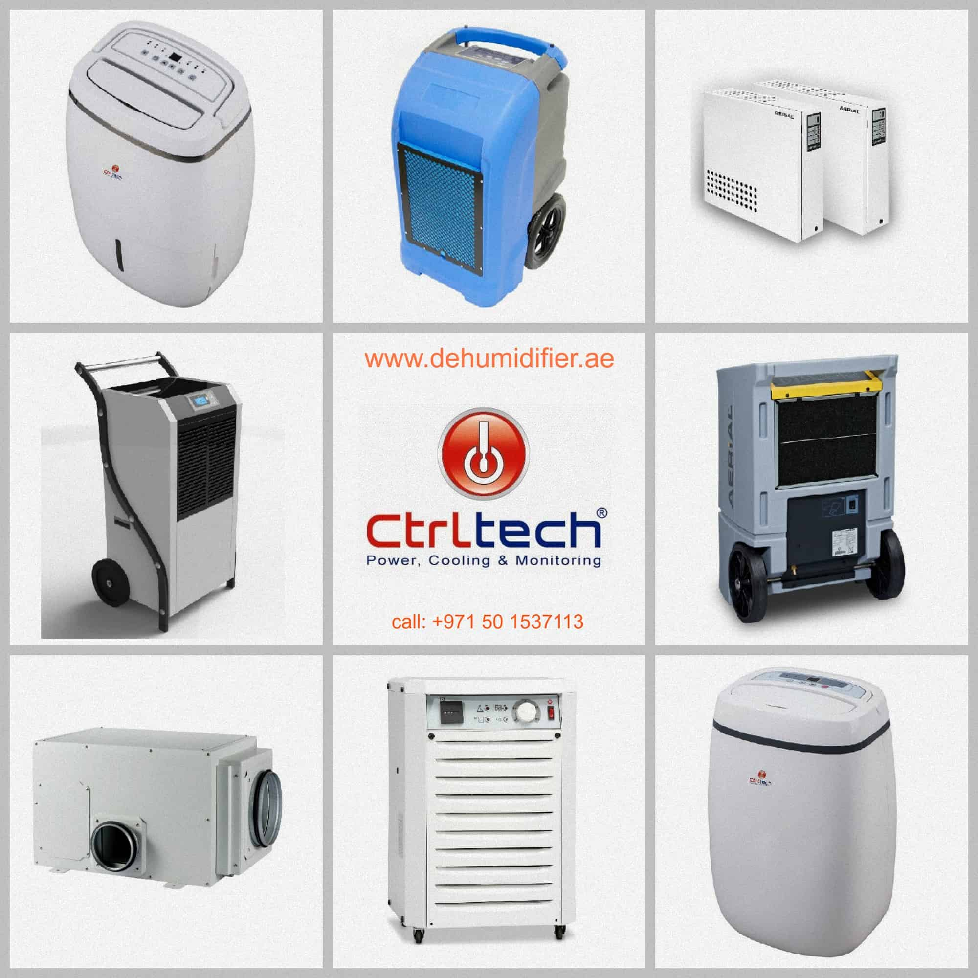 all model of poratable dehumidifier and industrial dehumidifier for humidity control.