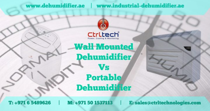 Wall mounted dehumidifier vs portable dehumidifier in UAE, Qatar and Saudi Arabia.