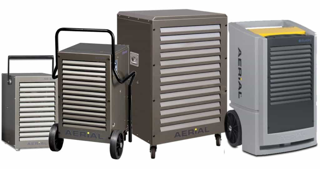 Industrial dehumidifier by Aerial Germany