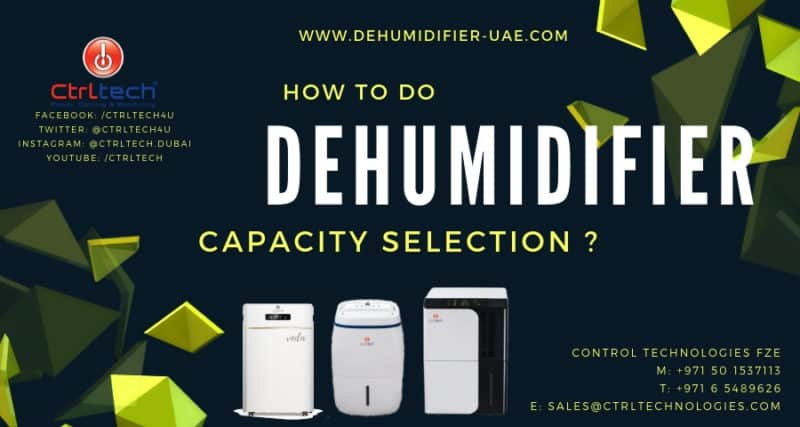 How to do dehumidifier sizing?