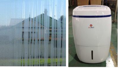 Dehumidifier capacity calculation.