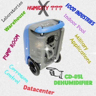 CD-85L INDUSTRIAL DEHUMIDIFIER