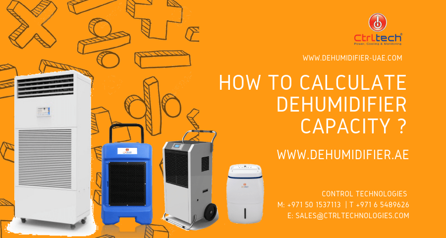 How to do dehumidifier calculation and capacity selection