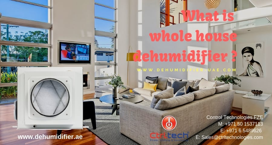 What is whole house dehumidifier
