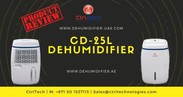 CD-25L air dehumidifier review.