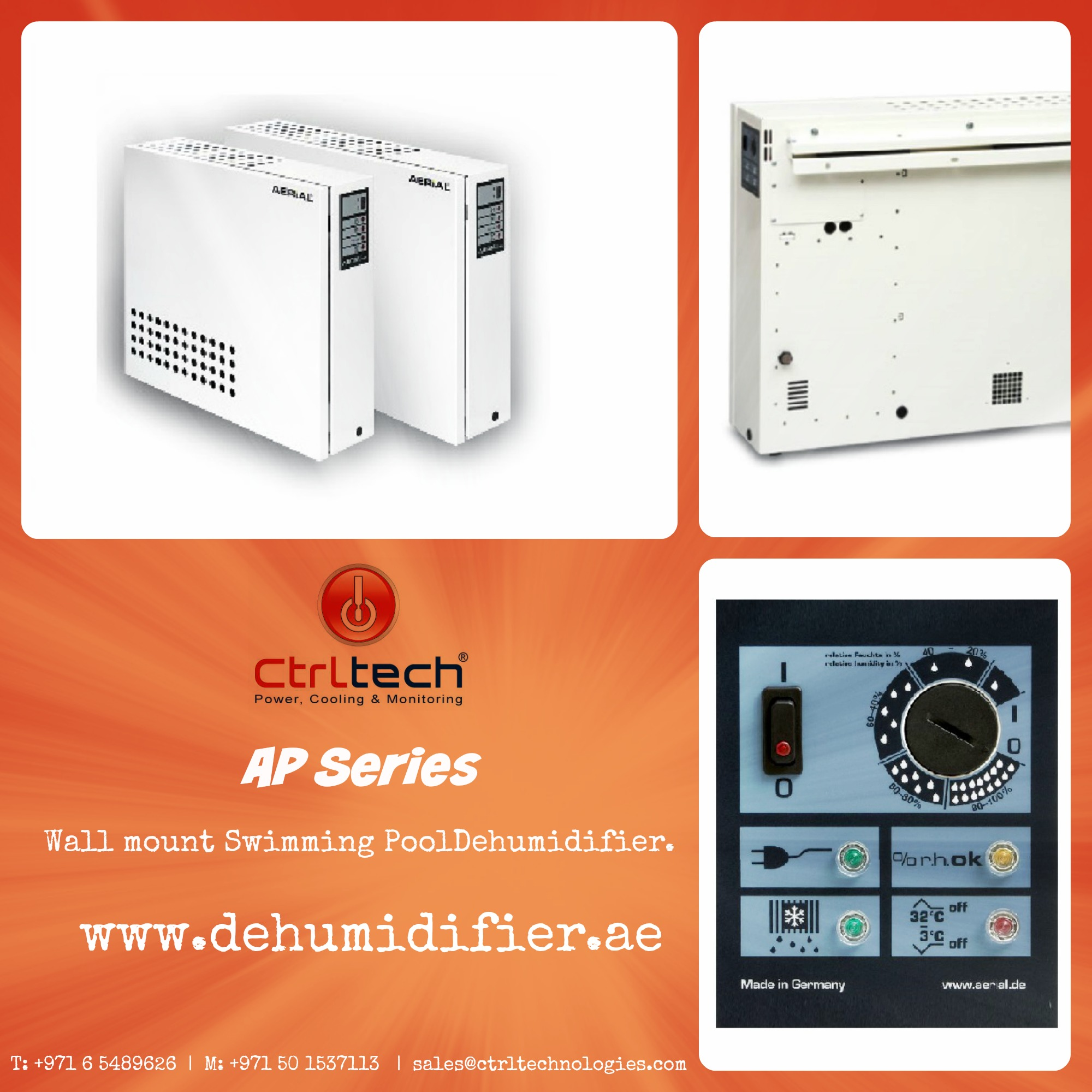 Swimming pool Dehumidifiers in Dubai, UAE.