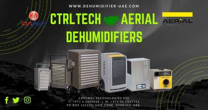 CtrlTech, become dealer for of Aerial, Germany Dehumidifier in UAE.