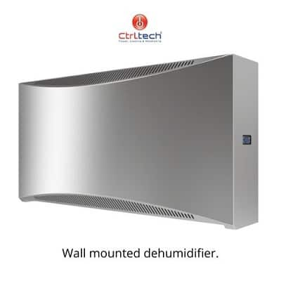 Wall dehumidifier for swimming pool.