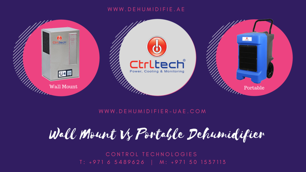 Wall-mounted dehumidifier Vs Portable.