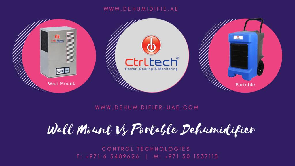 Wall-mounted dehumidifier Vs Portable.