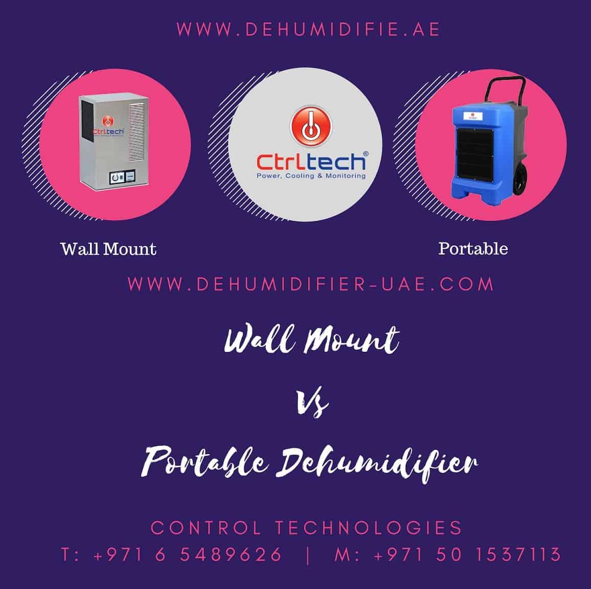 Why Is Dehumidification Important: Comparison Of Wall Mounted Dehumidifier And Portable Dehumidifier In UAE, Qatar, Saudi Arabia