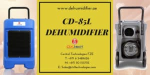 CD-85L industrial dehumidifier Dubai.