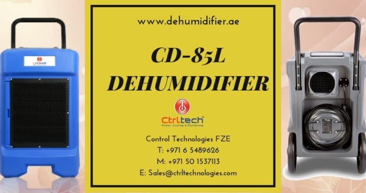 Industrial dehumidifier video review; CD-85L Dehumidifier