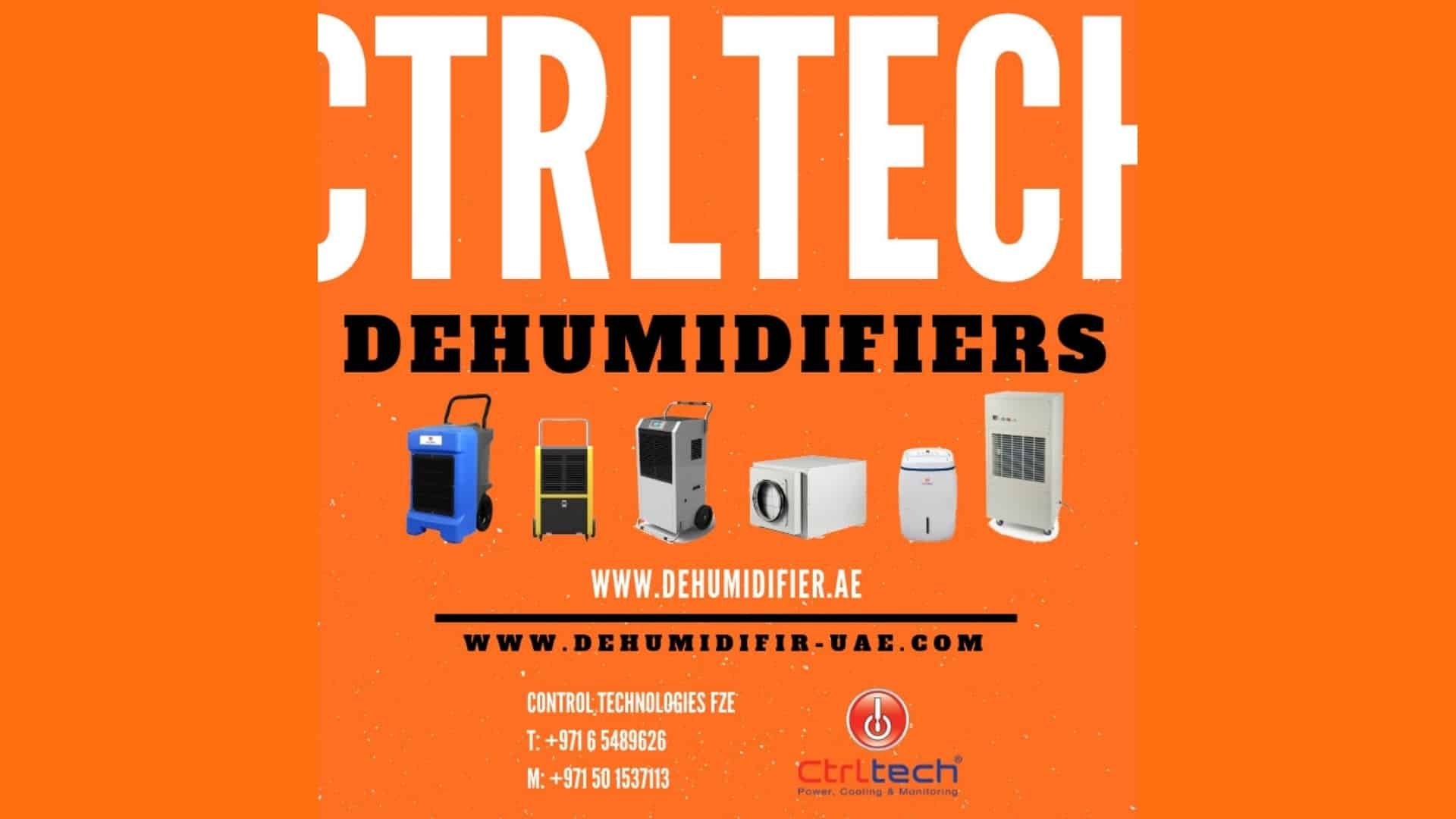 Dehumidifiers; some of the best choices in UAE market