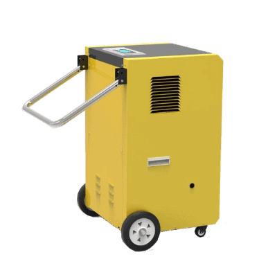 CDM-50L commercial dehumidifier with pump.