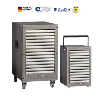 AD5 industrial size dehumidifier.