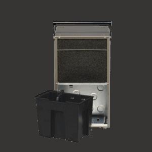 AD540 industrial dehumidification system backside.