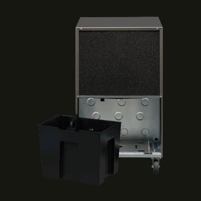 AD580 industrial grade dehumidifier backside.