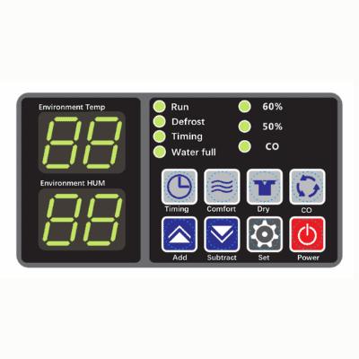 CDM-138L industrial dehumidifier control panel.