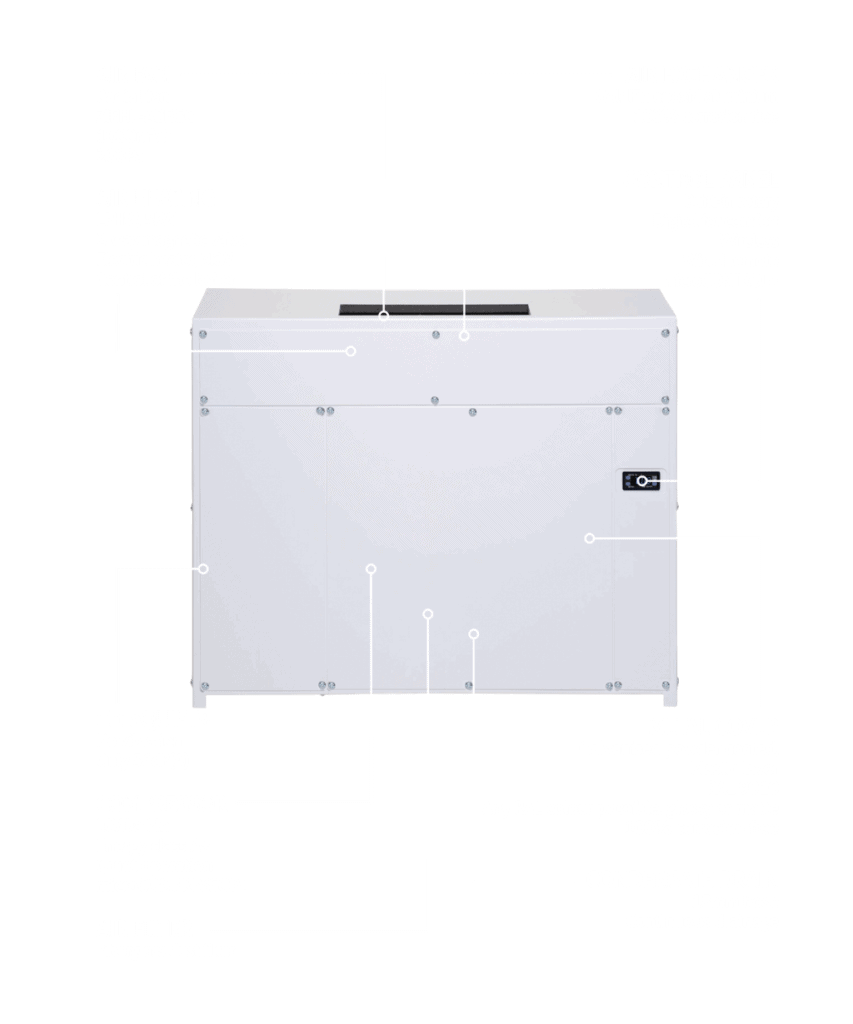 DRY 400 duct dehumidifier.