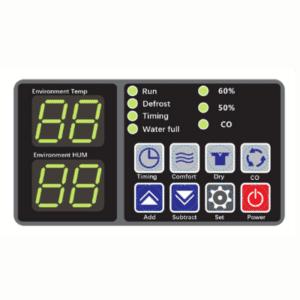 FSD pool dehumidifier control panel.