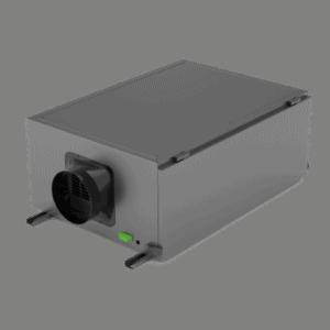 SPD-136L inline duct dehumidifier.