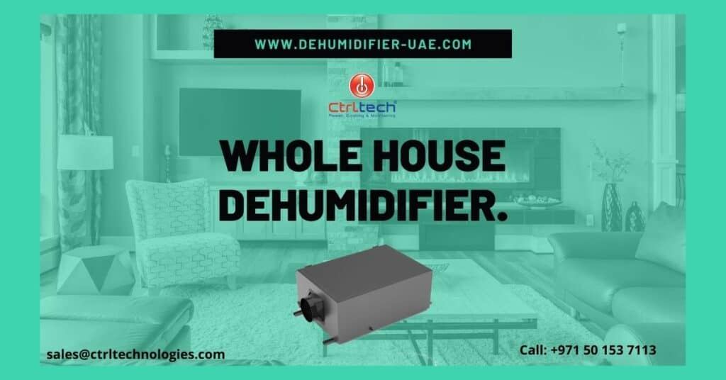 Whole house dehumidifier for home.